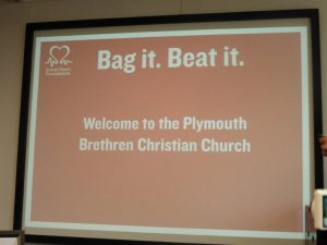 Part of the Thank You Presentation from BHF