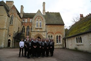 A choir of some current and former Focus Students from Biggleswade School Campus revisited Milton Ernest Hall Care Home to encourage and uplift the elderly residents.