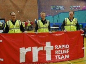 The emergency planning unit for the North East approached the Rapid Relief Team during 2014 asking for help and services on a pre-planned Emergency Evacuation Exercise