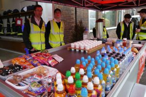 The Plymouth Brethren Rapid Relief Team (RRT) willingly agreed to manage the catering for the event.