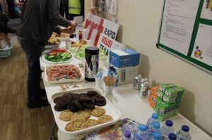 A fine spread of food