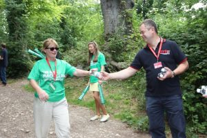 RRT at the Reigate Hill '20 mile' rest stop with Chilled Water, Jelly Babies…….