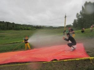 Wetting the Slip and Slide for the best experience