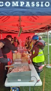 RRT Bournemouth French Boules Pitch 20170225 Bacon rolls for breakfast